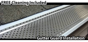 Oakville_Gutter_Guard_Installtion