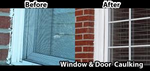 Oakville window caulking